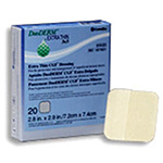 Duoderm cuff extra thin adherent dressing oval shape1 3/4X1 1/2 , 20ea