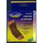 Bell Horn Elastic Elbow Support, Beige, Medium
