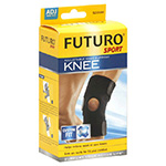 "Futuro Knee Support, Open Patella, Neoprene, Large (17"" - 19.0"")"