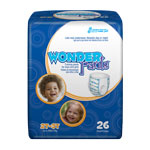 WonderPants Training Pants 2T-3T Medium, 26 ea, (Pack of 4)