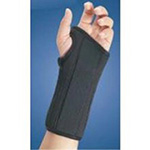 FLA Professional Wrist Splint Brace Black Small right