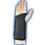 "Bell-Horn Wrist Brace Composite, Black Right Medium 6.5/7.5"", #206"