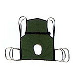 Hoyer Patient Commode Sling With Positioning Strap Medium,1ea