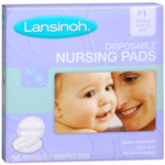 Lansinoh Nursing Pads Disposable, Size 36