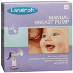 Lansinoh Manual Breast Bump with Comfortseal Cushion BPA Free - 1 ea