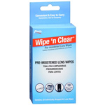 Flents Wipe N Clear Lens cleansing tissues, 20 Each