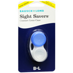 Bausch and Lomb sight savers contact lens case - 1 ea