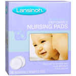 Lansinoh Ultra Soft Disposable Nursing Pads, 36 ea