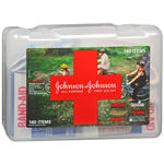 Johnson & Johnson All-Purpose First Aid Kit, 140