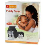 Ameda Purely Yours Electric Double Breast Pump, with Backpack, 1 ea