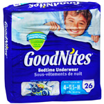 Huggies GoodNites Underpants Boys Small/Medium (38-65 lbs), 15ea (case of 4)