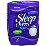 Sleep Overs Pull-Up, Small/Medium, Youth Underwears, 60/cs