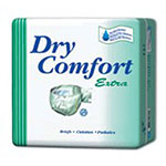 Dry Comfort Extra Adult Briefs, Xtra Large, 10ea (case of 6), #395