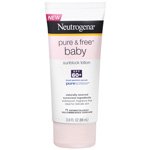 Neutrogena Pure & Free Baby Sunblock Lotion SPF 60, 3 oz