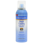 Neutrogena Fresh Cooling Body Mist Sunblock SPF 70, 5 oz