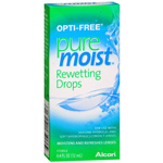 Opti-Free PureMoist Rewetting Drops, .12ml