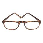 Windmill Reading Glass 1/2 Eye Tortoise Shell,1.75,#729C