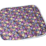 "Salk CareFor Deluxe Floral Designer Print Wheelchair Pad 16.5"", SALK 1969LP"