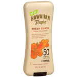 Hawaiian Tropic Sheer Touch Sunscreen Lotion, SPF 50, 8 fl oz