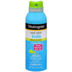 Neutrogena Wet Skin Kids Sunblock Spray, SPF 70, 5 oz
