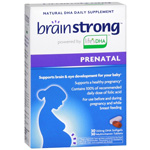BrainStrong Prenatal Multivitamin Plus DHA, 60 ea