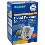 Life Source Advanced Blood Pressure Monitor Manual Inflate UA-705VL