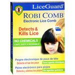 LiceGuard Robi Comb Electronic Head Lice Detector and Remover