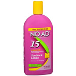 NO-AD Sunblock Lotion, SPF 15, 16 fl oz