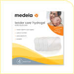 Medela Tender Care Hydrogel Pads, 4 ea