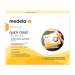 Medela Quick Clean steam bags, 5 ea