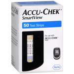 Accu-Chek SmartView Test Strips Retail Box of 50