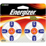 Energizer EZTurn & Lock Hearing Aid Battery, Size 675, 8 Pk