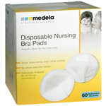 Medela Disposable Nursing Bra Pads, 60 ea