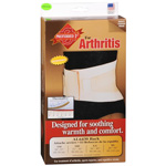 Sportaid Back Support Arthritis Neoprene ThermaDry Beige, Medium