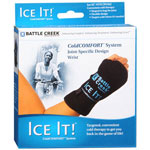 "Ice It! Deluxe Wrist Wrap System, Model 570, 4.2"" x 8.2"", 1 ea"