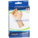 Sportaid Wrist Brace Slip-On Beige, Small, 1 Ea