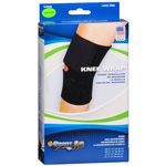 "Sportaid Knee Wrap Neoprene Black, Medium 14""-15"", 1 ea"