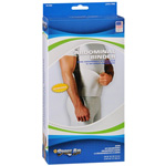 "Sport Aid Abdominal Binder 9""-White, Small: Fits 30""-45""; 1 Ea"