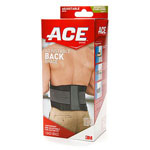 ACE Tek Zone Back Brace Adjustable, 1 EA