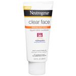Neutrogena Clear Face Sunblock Lotion, SPF 30, 3 oz
