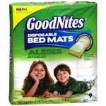 GoodNites Disposable Bed Mats, 9 ea (Pack of 4)