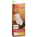 Ankle Wrap for Arthritis, Thermadry, Beige, Medium (8-10in)