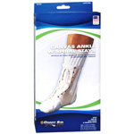 Sport Aid Ankle With Spiral Stays Canvas Small, 1 ea