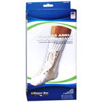 Sport Aid Ankle With Spiral Stays Canvas Medium, 1 ea