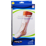 Sport Aid Ankle With Spiral Stays Canvas Large, 1 ea