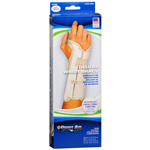 Wrist Brace Deluxe, Beige, Left Wrist, Medium