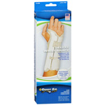Wrist Brace Deluxe, Beige, Right Wrist, Large