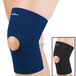 FLA Safe-T-Sport Thermal Neoprene Knee Sleeve, XSmall