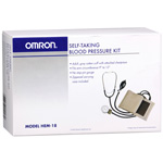 Omron HEM-18 Manual Self-Taking Blood Pressure Monitor