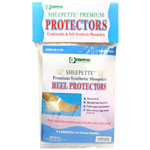 Essential Medical Sheepette Premium Heel Protectors